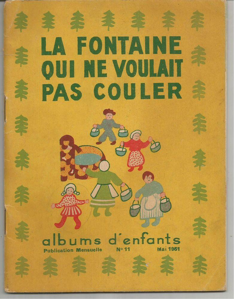 LA FONTAINE QUI NE VOULAIT PAS COULER - 1951 10 Montauban (82)