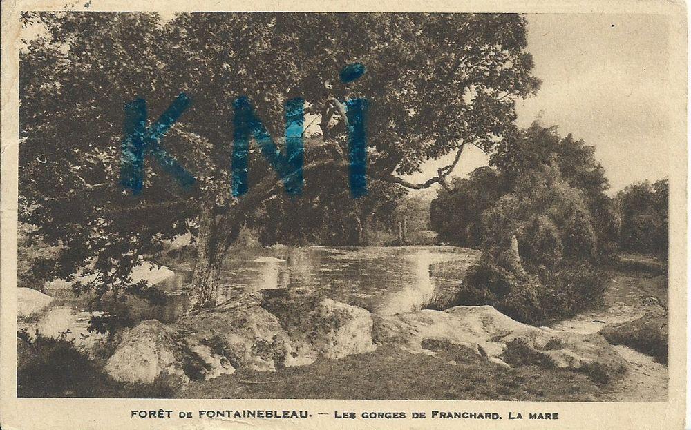 cp a  ,  77 Fontainebleau , la Forêt 3 Tours (37)