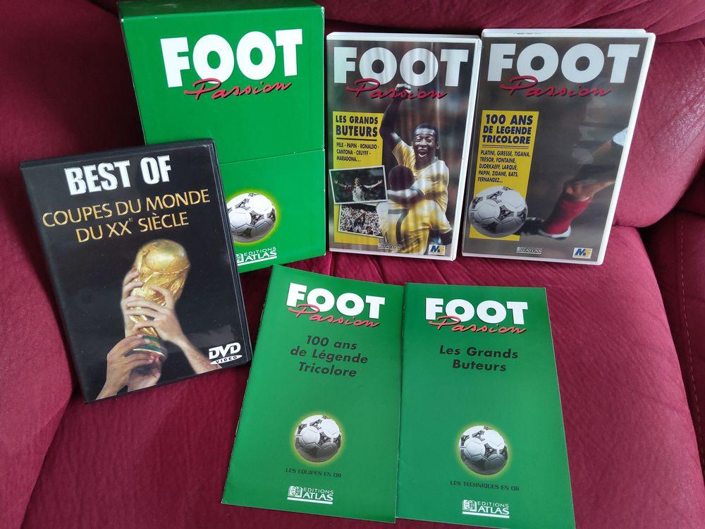 Le FOOT en DVD et K7 vidéo 2 Saint-Bonnet-les-Oules (42)