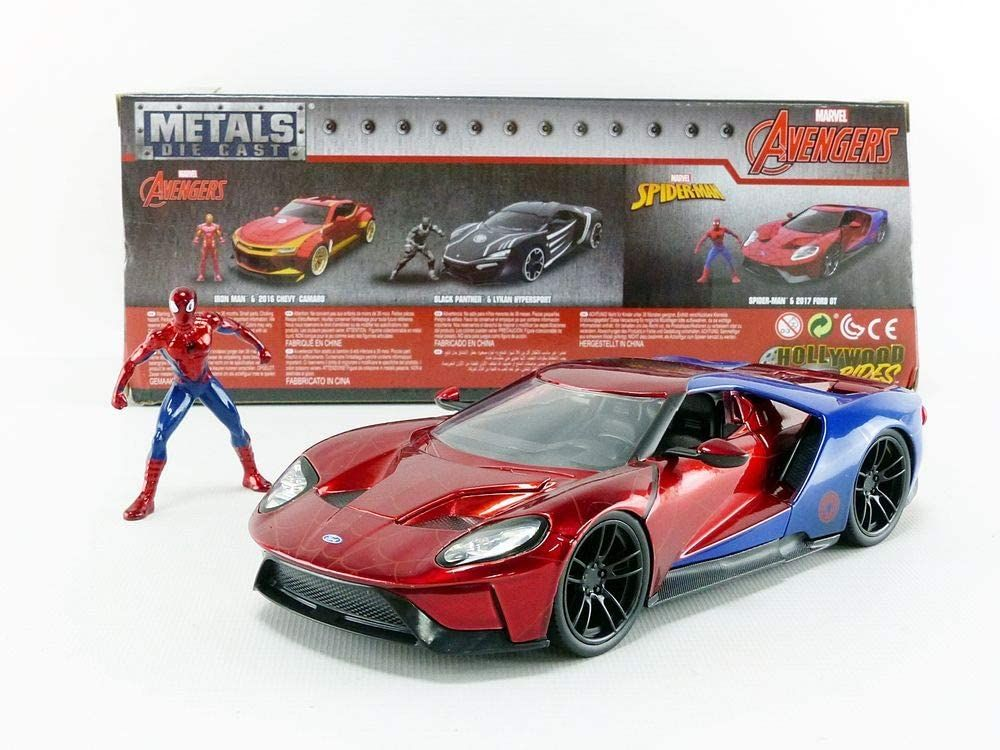 FORD GT 2017 - Hollywood Rides Spiderman - 1/24 38 Coudekerque-Branche (59)