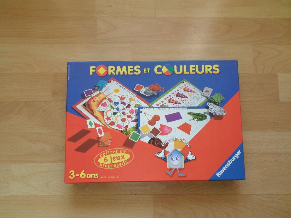 JEU FORMES ET COULEURS 10 Combs-la-Ville (77)