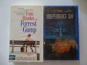 VHS Forrest Gump et Independance Day 5 Saint-Laurent-du-Var (06)