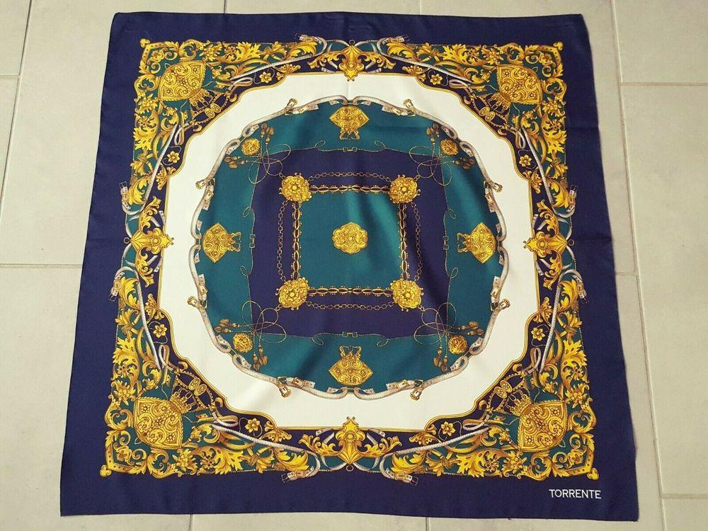 foulard vintage Torrente 15 Beauchamp (95)