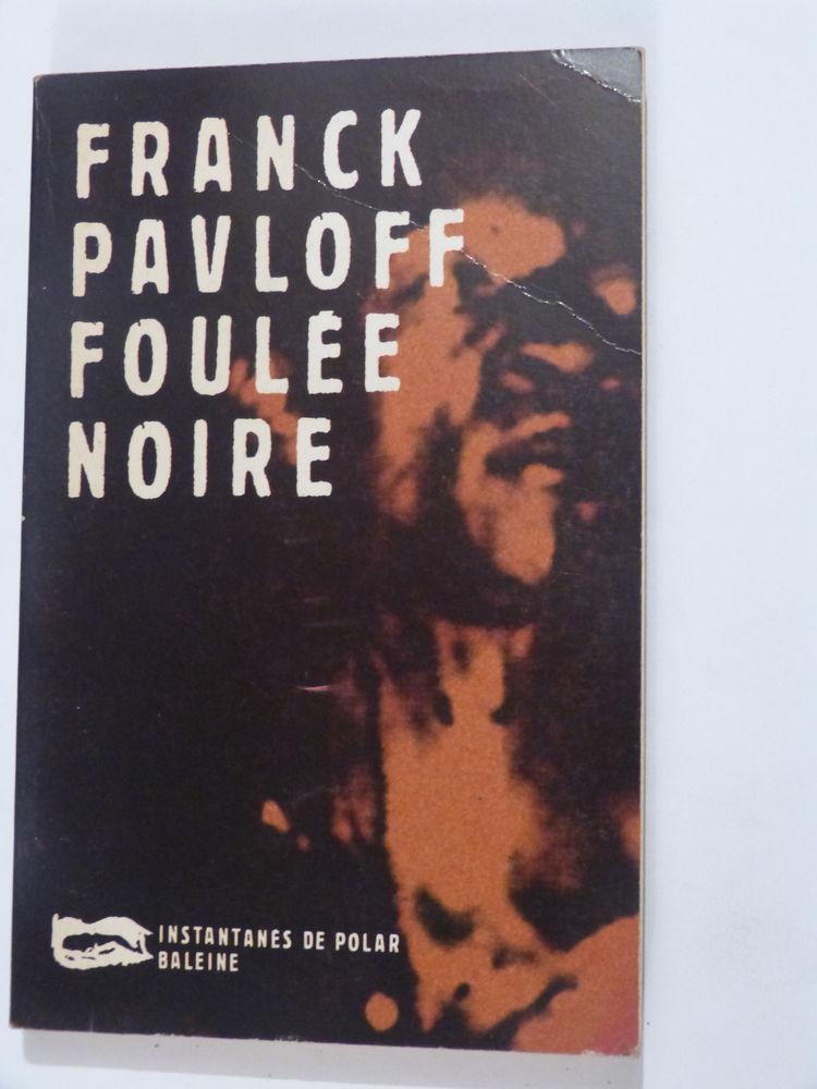 FOULEE NOIRE roman policier BALEINE Livres et BD