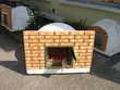 Four en brique réfractaire pain pizza Décoration