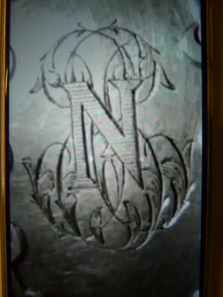 fourchettes argent massif gravées  N ,monogramme Napoléon 180 Lille (59)