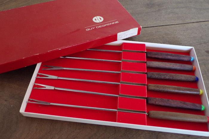 Fourchettes à fondue Guy Degrenne coffret 6 pièces 6 Laval (53)