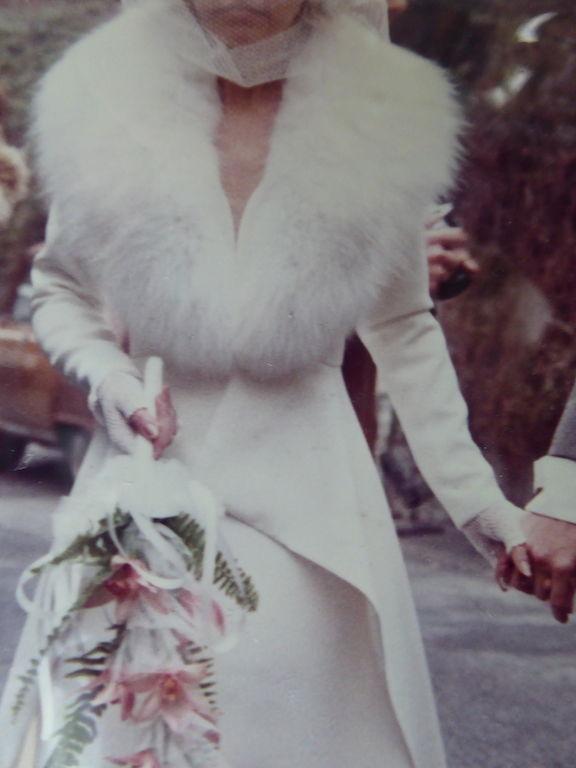 Col fourrure Renard blanc pour robe de mariage 50 Bièvres (91)