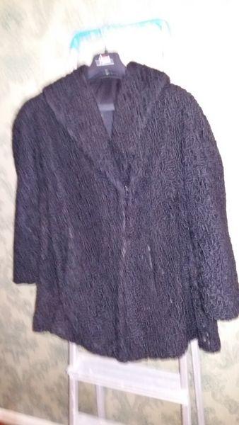 Fourrure veste en astrakan (vintage) 75 Strasbourg (67)