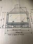 Foyer cheminée Godin 300 Quimper (29)