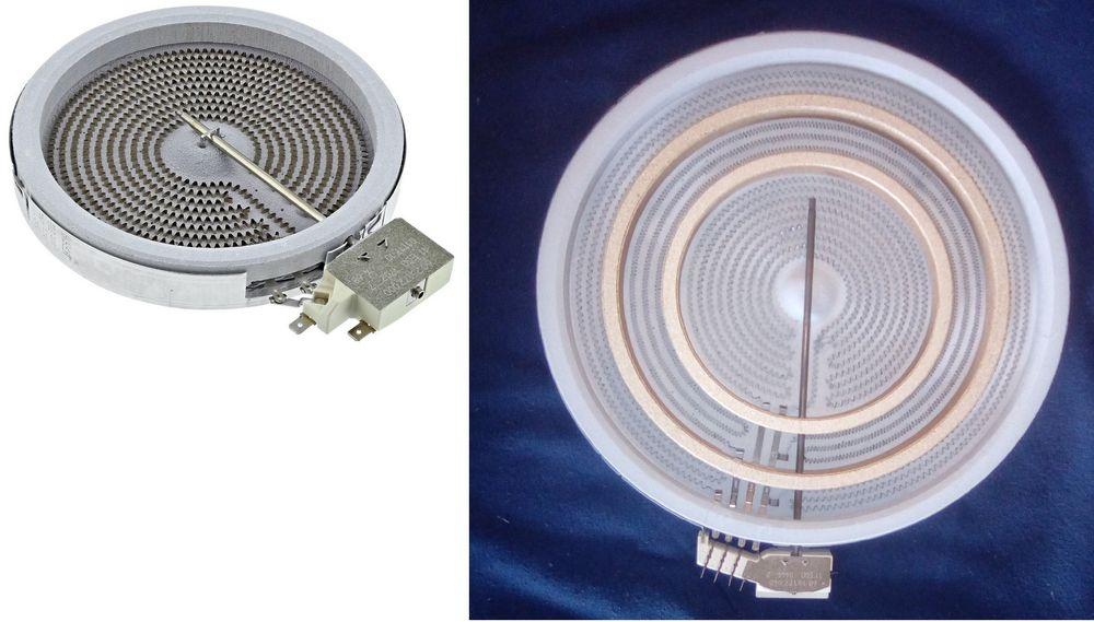 Foyers radiants : 1200, 1800 et 3 puissances Electroménager
