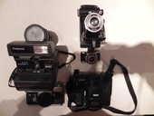Lot non fractionnable de 5 appareils photos argentiques 600 La Magdelaine-sur-Tarn (31)