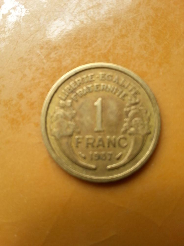 1 franc cupro 5 Montceaux-lès-Provins (77)