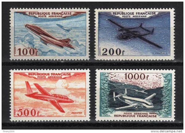 France 1954 Timbres PA neufs * 180 Périgueux (24)