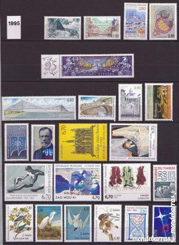 France 1995  timbres poste neufs , blocs , carnets 50 Joué-lès-Tours (37)