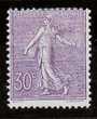 France Semeuse n° 133 violet neuf*