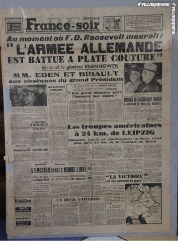 FRANCE SOIR 1945 20 Pontours (24)