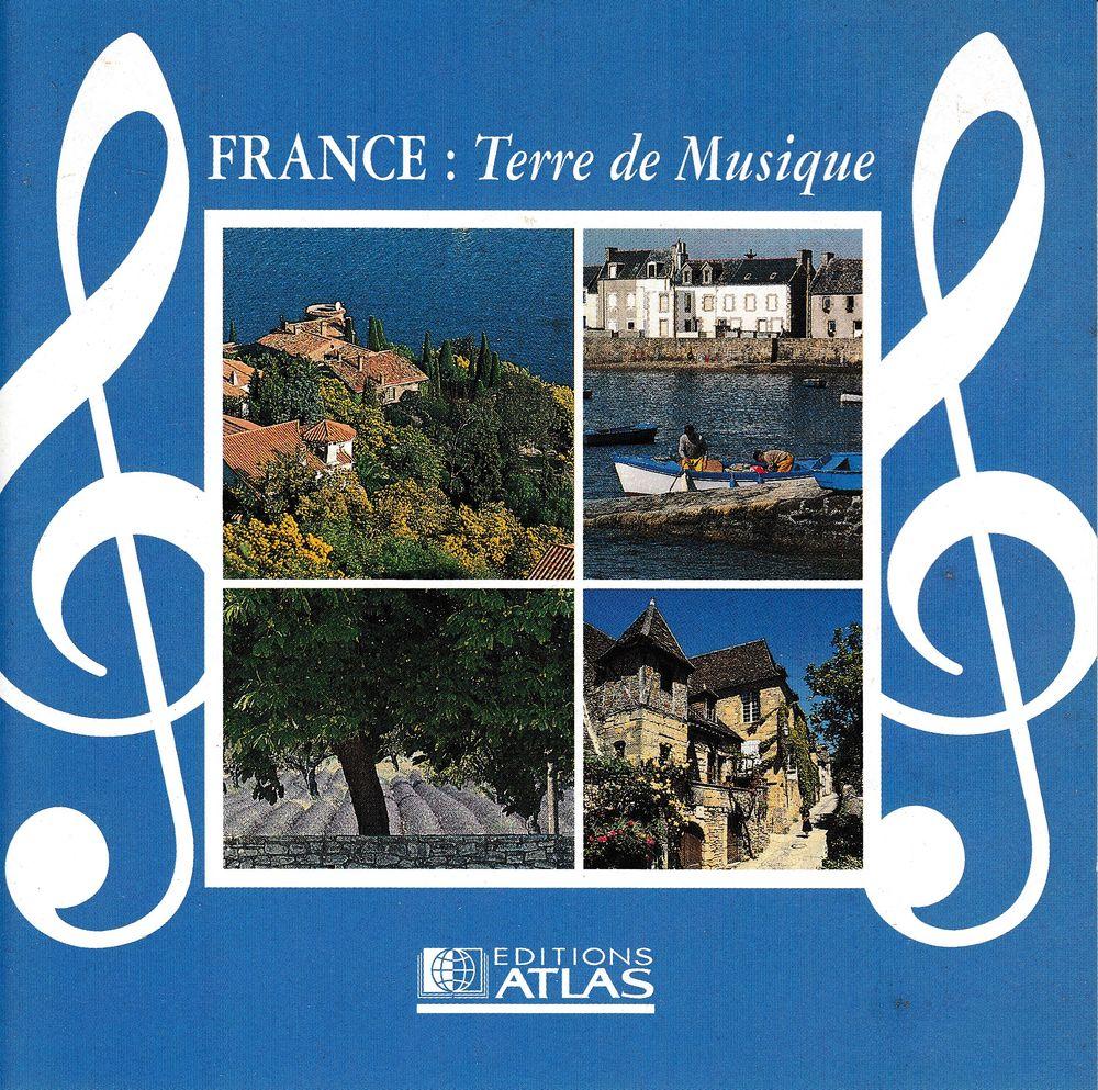 CD    France: Terre De Musique     Compilation 5 Bagnolet (93)