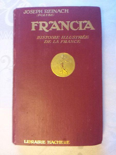 Francia. Joseph Reinach. 1921 Livres et BD