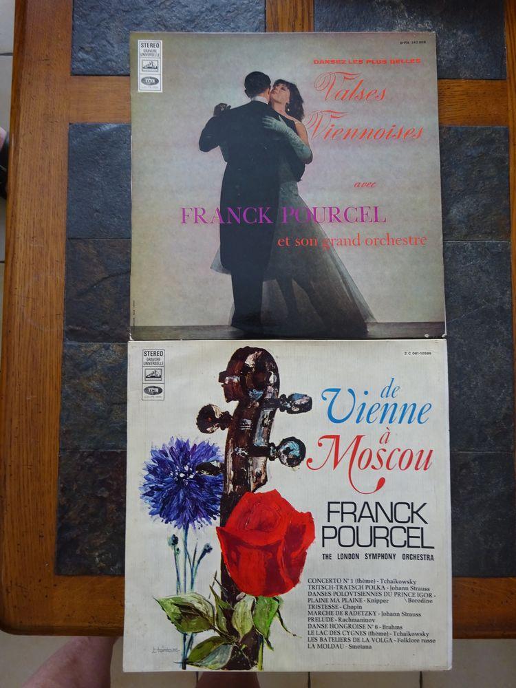 FRANCK POURCEL, TROMPETTE, 2 vinyles 33 tours 2 Éragny (95)