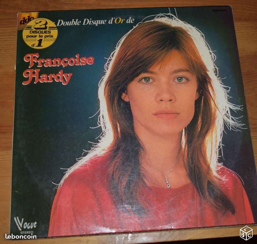 FRANCOISE HARDY - DOUBLE DISQUE D OR - 1973 CD et vinyles