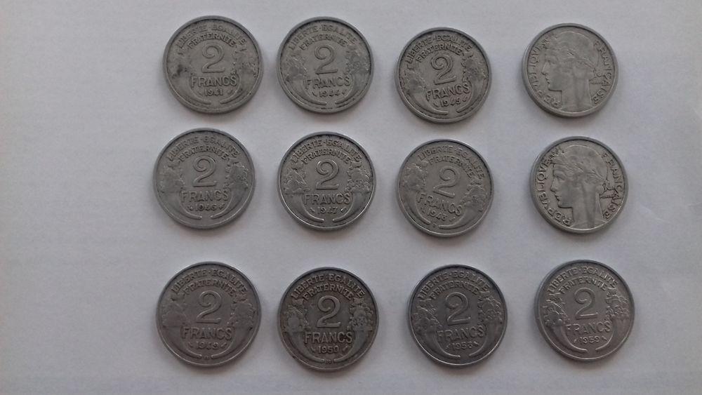 2 FRANCS Aluminium 1943 à 1959