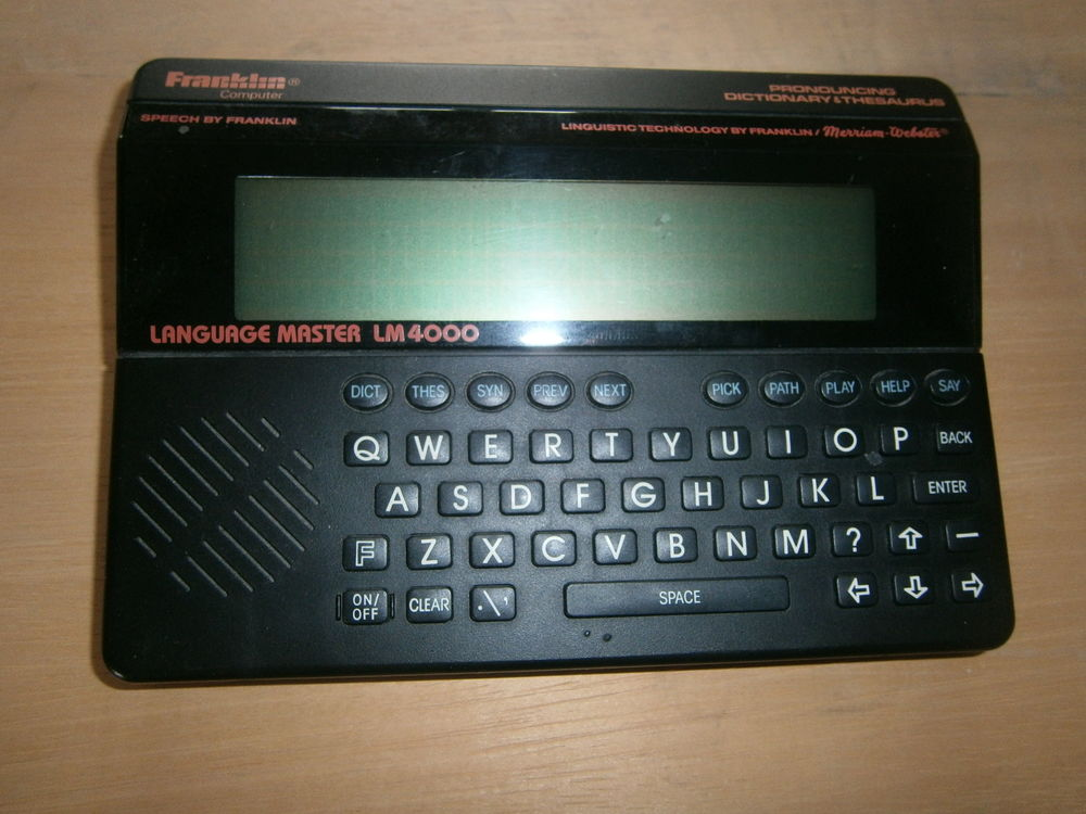 Franklin dictionary MASTER Lm 400 10 Grenoble (38)