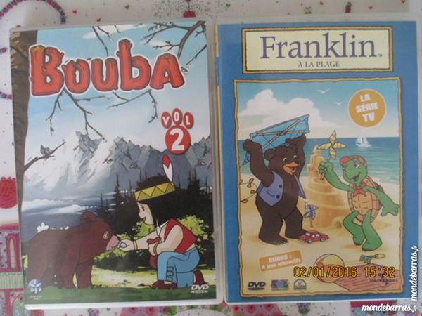 2 DVD : Franklin à la plage et Bouba 5 Alfortville (94)