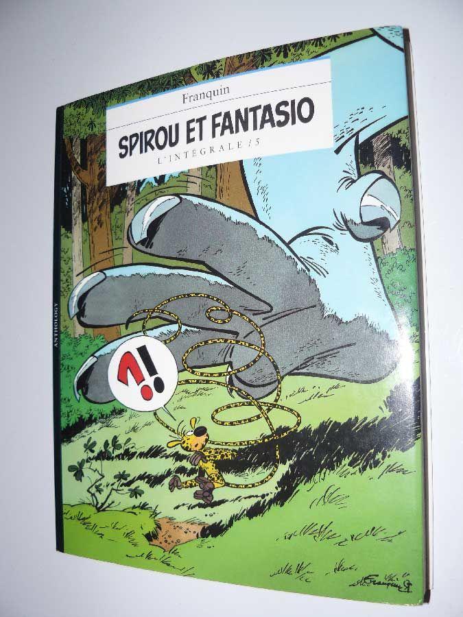 FRANQUIN - SPIROU & FANTASIO - INTEGRALE T5 (NIFFLE) EO 15 Paris 15 (75)