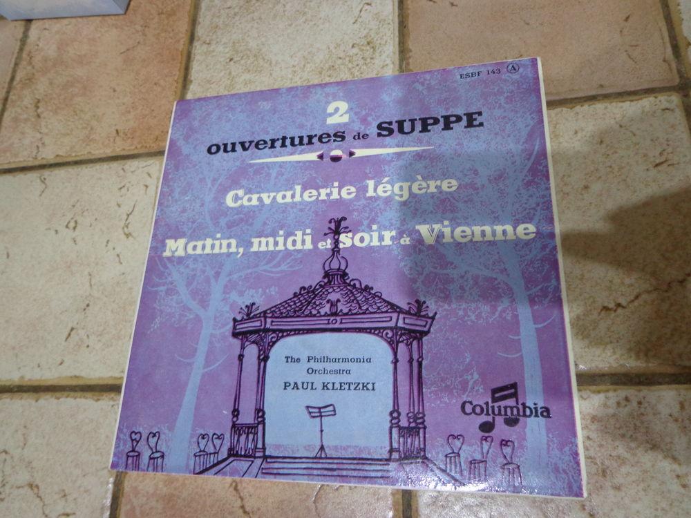 FRANZ VON SUPPE, classique, vinyle 45 tours 2 Éragny (95)
