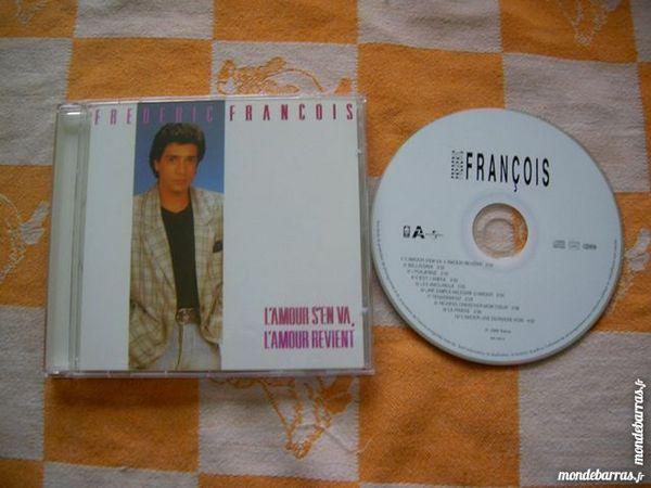 CD Frédéric FRANCOIS L'Amour s'en va, L'Amour revi 13 Nantes (44)