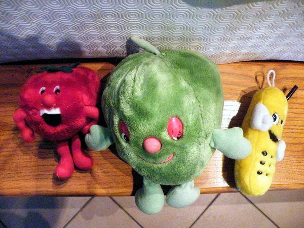 fruit peluche la fraise et banane la pomme  1 Viriat (01)