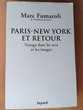 Fumaroli, Paris-New York, voyage dans les arts Saint-Germain-en-Laye (78)