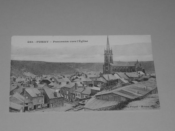 Cpa N° 480 Fumay Ardennes 3 Givonne (08)