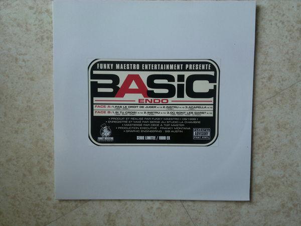 FUNKY MAESTRO - VYNILE - MAXI BASIC ENDO 0 Massy (91)