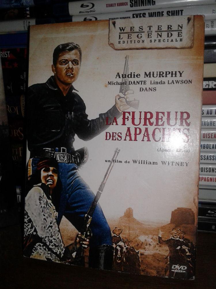 DVD La Fureur des Apaches - Audie Murphy 5 Paris 15 (75)