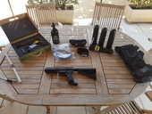 Fusil de paintball + accessoires  200 Eyragues (13)