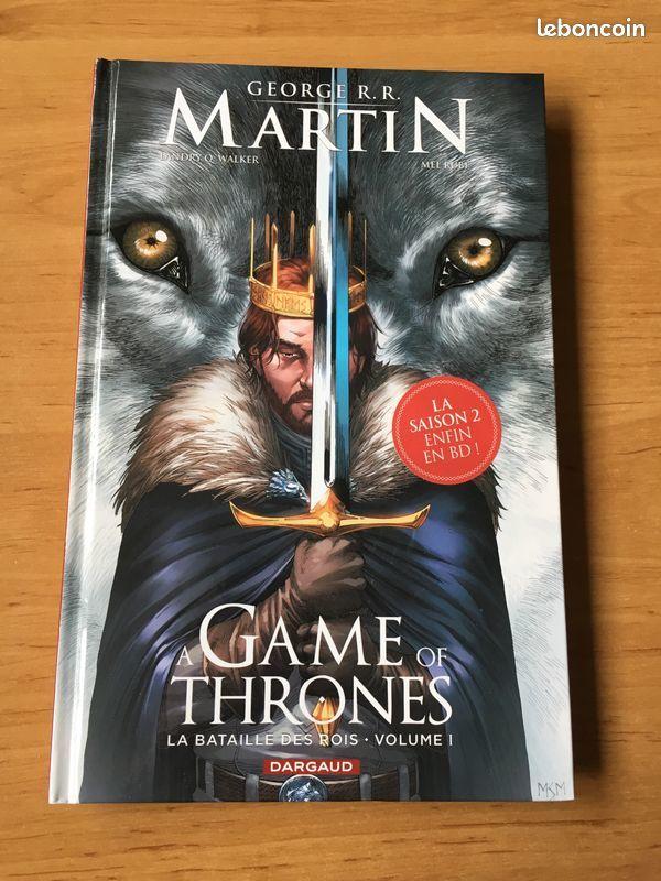 BD  Game of Thrones  La bataille des rois. 10 Clermont-Ferrand (63)