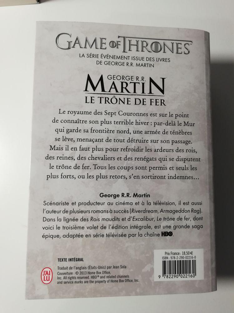 Game of Thrones / L'intégrale 3 par G.Martin édition J'ai Lu 7 Montagnac (34)