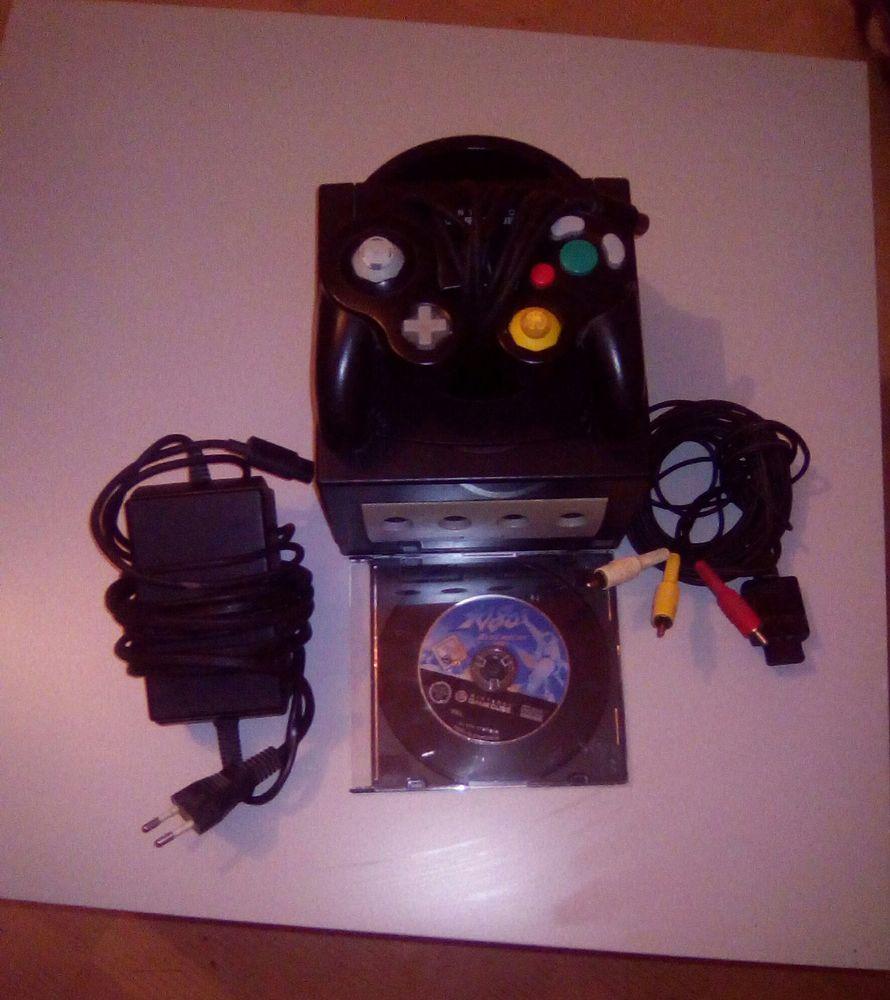 GameCube noire avec Jeu 15 Triguères (45)