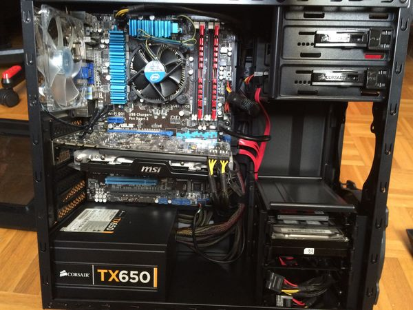 PC Gamer (i3 3.3Ghz, GTX 660 Ti, SSD 128Go.) 480 Sannois (95)