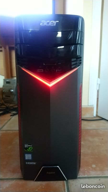 Pc gaming Acer GX781 i5 7400 GTX1050 500 Fontainebleau (77)