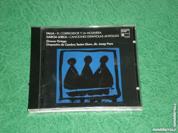 cd Garcia Lorca / Falla    Canciones espanola  4 Saleilles (66)