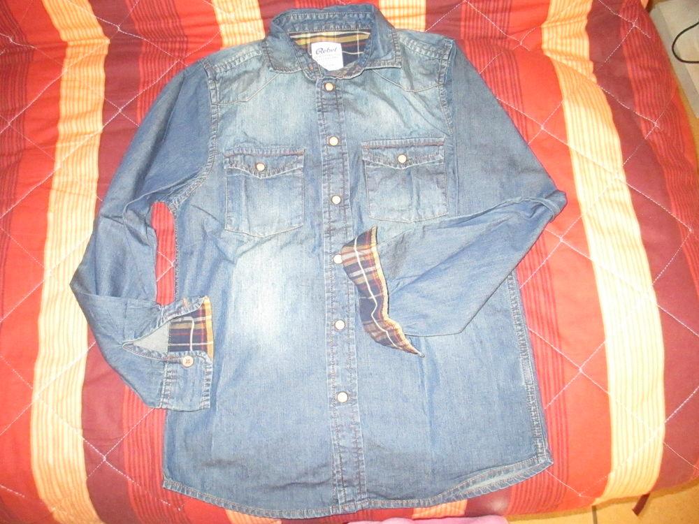 Garçon chemise jean Rebel 10 ans  4 Alfortville (94)