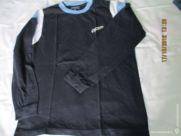 Garçon 14 ans DYNAM tee shirt bleu marine 2 Alfortville (94)