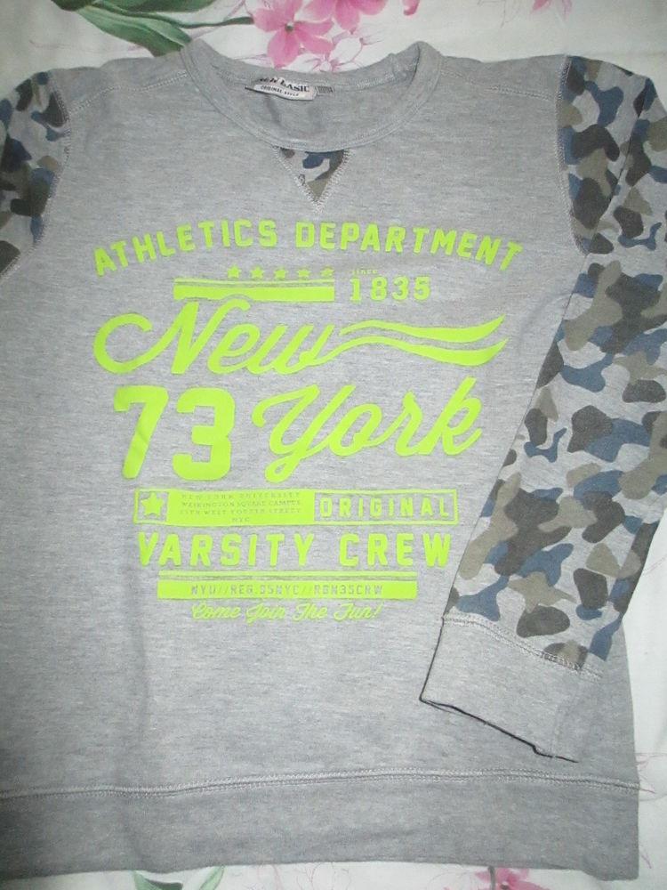 Garçon tee shirt gris épais 10 ans  3 Créteil (94)