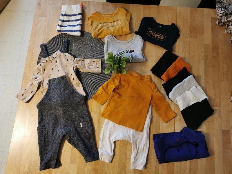 Garde robe bébé garçon 3 mois 170 Puteaux (92)