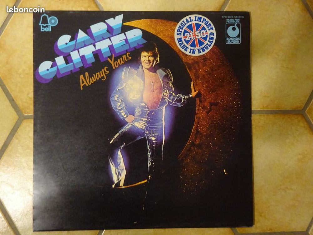 GARY GLITTER, ROCK, vinyle de 1975 5 Éragny (95)