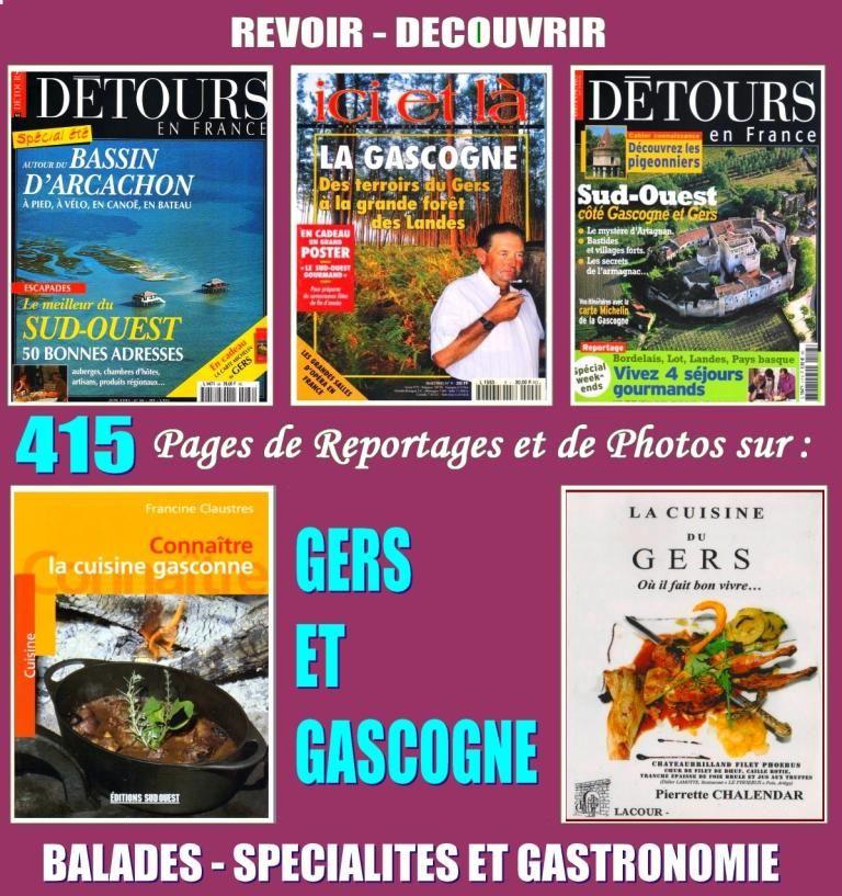 GASCOGNE - balades et cuisine - GERS 20 Strasbourg (67)