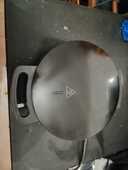 Gaufrier silvercrest de couleur noir pour faire des gaufre e 9 Radepont (27)